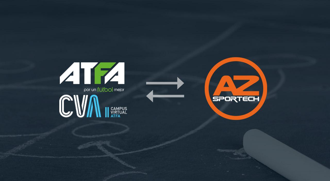 Acuerdo entre ATFA CVA y AZSportech