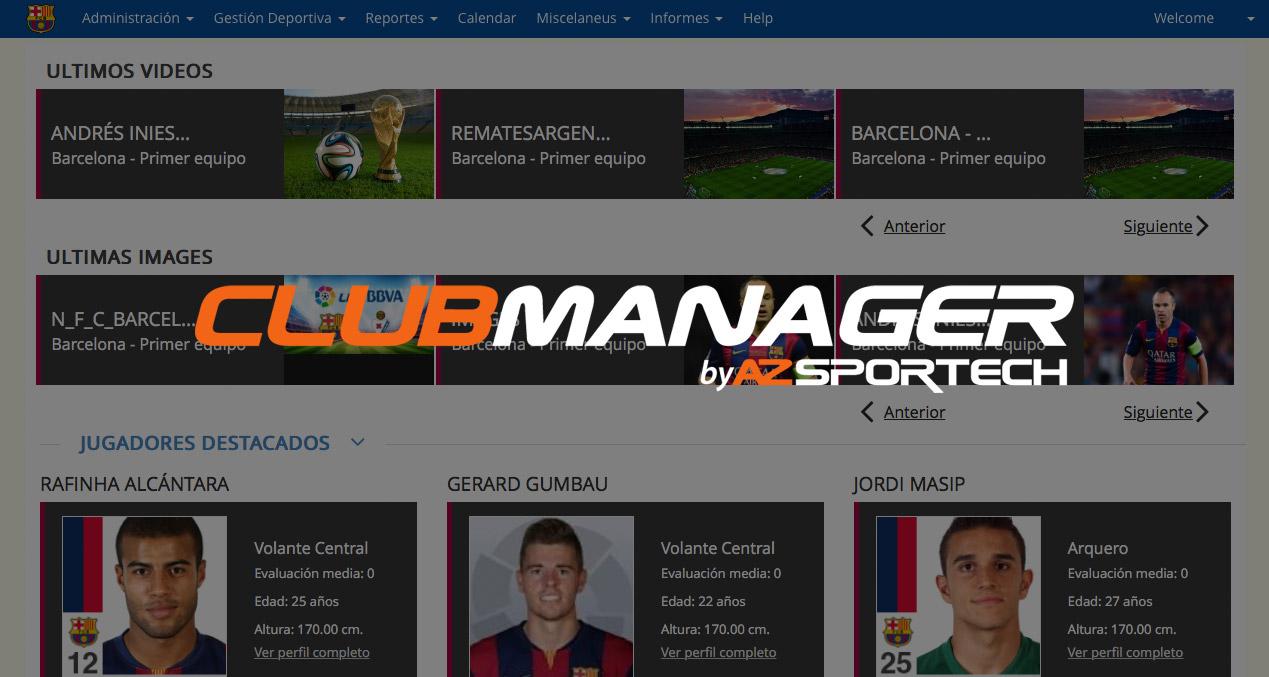 AZsportech Clubmanager