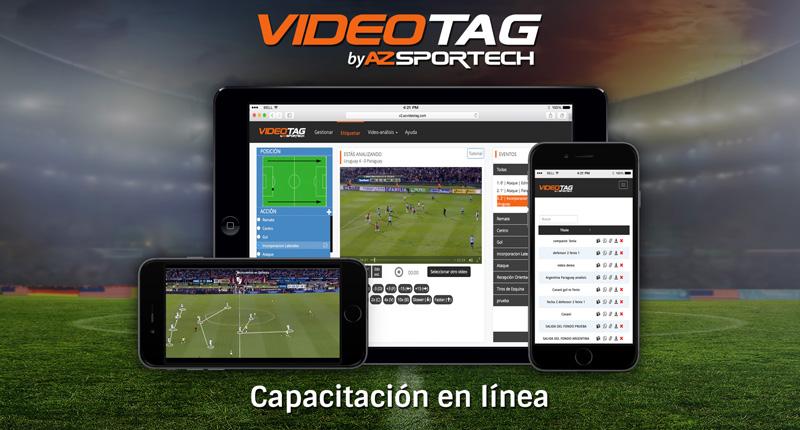 AZsportech - videotag - capacitaciones