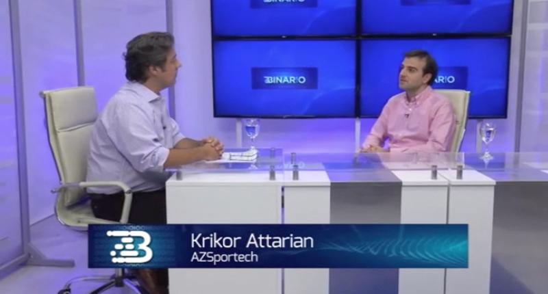 azsportech - krikor attarian - entrevista