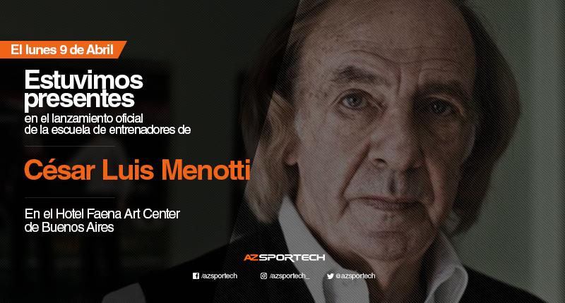 Escuela de entrenadores de César Luis Menotti