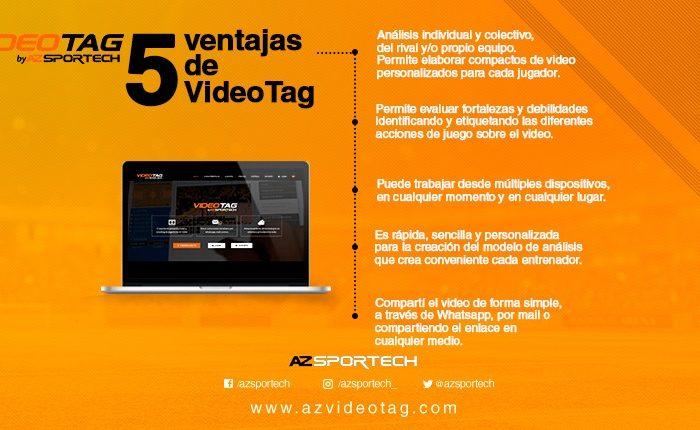 5 piques de VideoTag