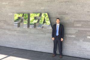 Krikor Attarian en taller de FIFA