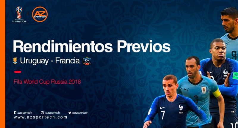 Rendimientos previo Uruguay vs Francia